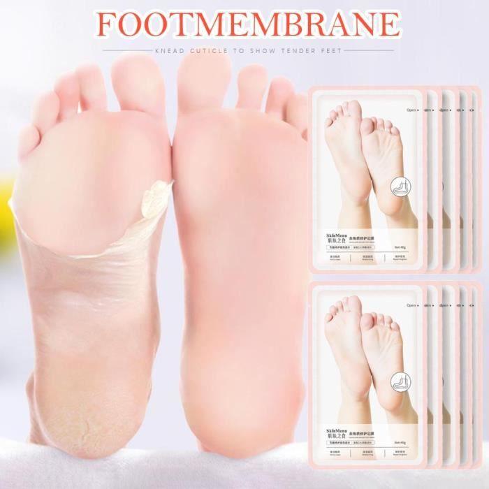 Hot Remove Masque de pied de peau morte Peeling Cuticules Talon Pieds Soin Anti 20ML FJC200507819