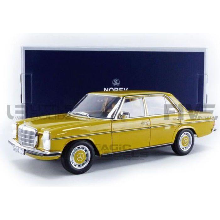 Voiture Miniature de Collection - NOREV 1/18 - MERCEDES-BENZ 200 (W115) 2nd Series - 1973 - Sahara Yellow - 183771