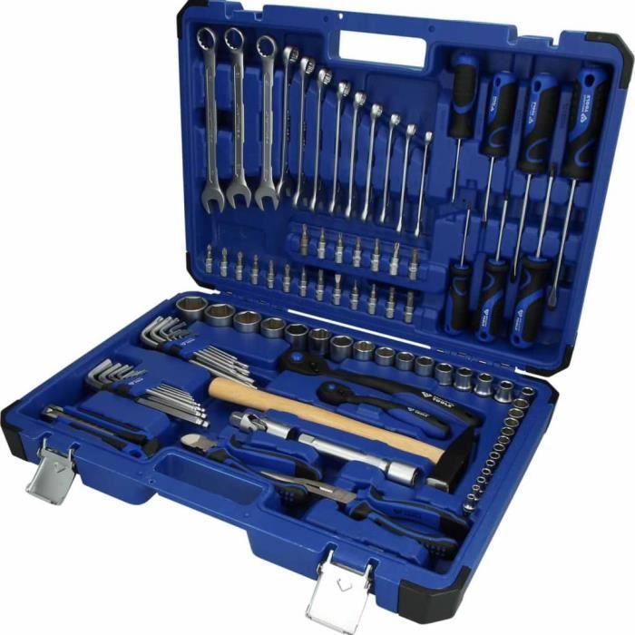 Coffret d'outils universel BRILLIANT TOOLS - 95 pcs- BT024095