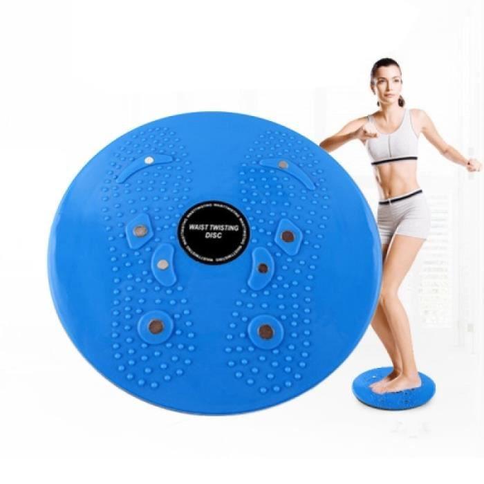 Pack Produits De Fitness - Pack Produits Musculation - Aérobic fitness disque de torsion, taille: 25 x 3cm (Bleu)