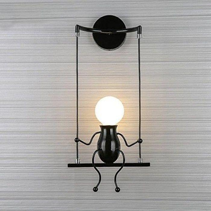 Applique Murale - Design - Moderne - Noir