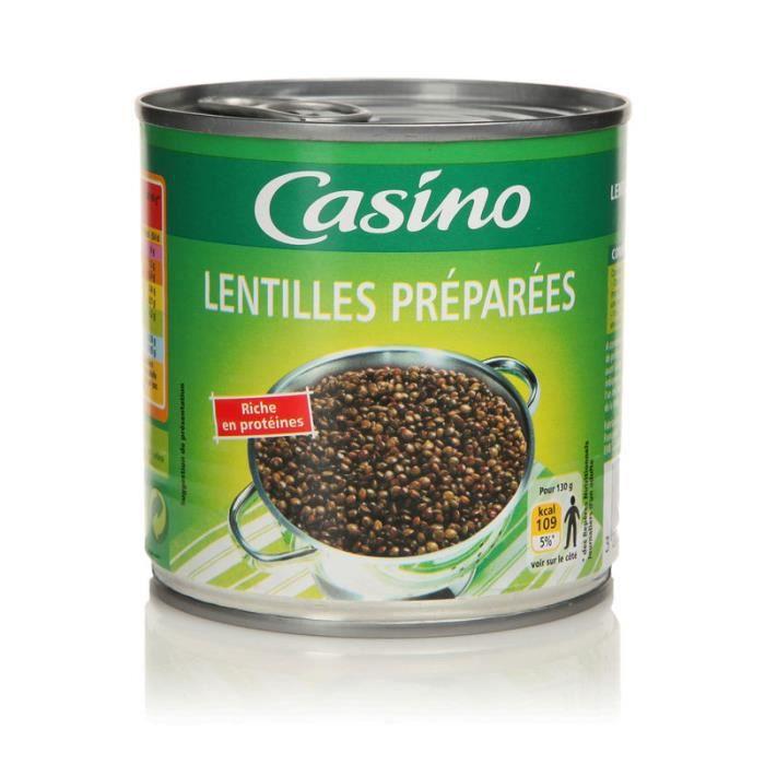 Lentilles preparées - 265g