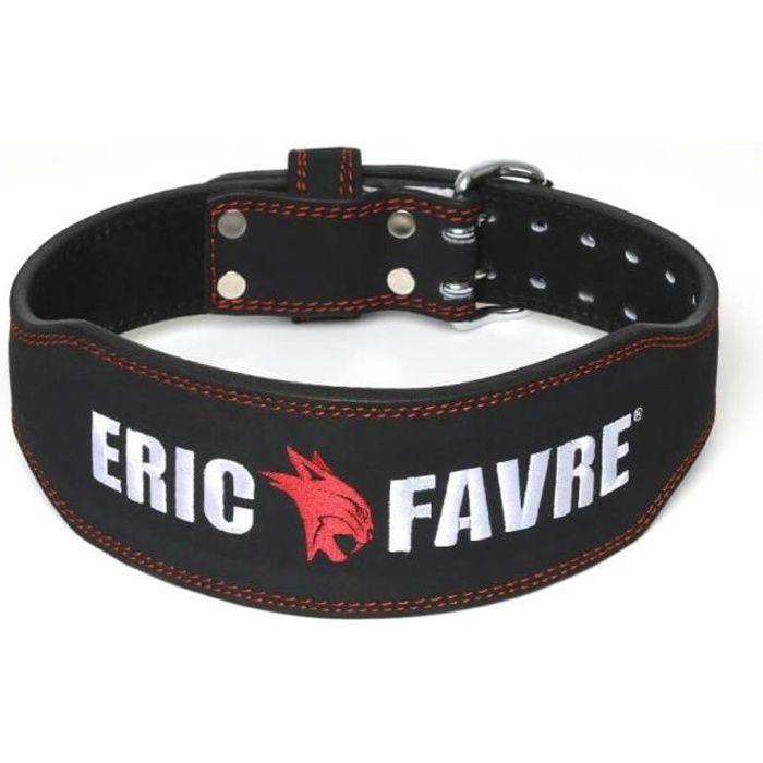 Eric Favre - Ceinture de force - Taille S - Musculation Fitness - Noir - S