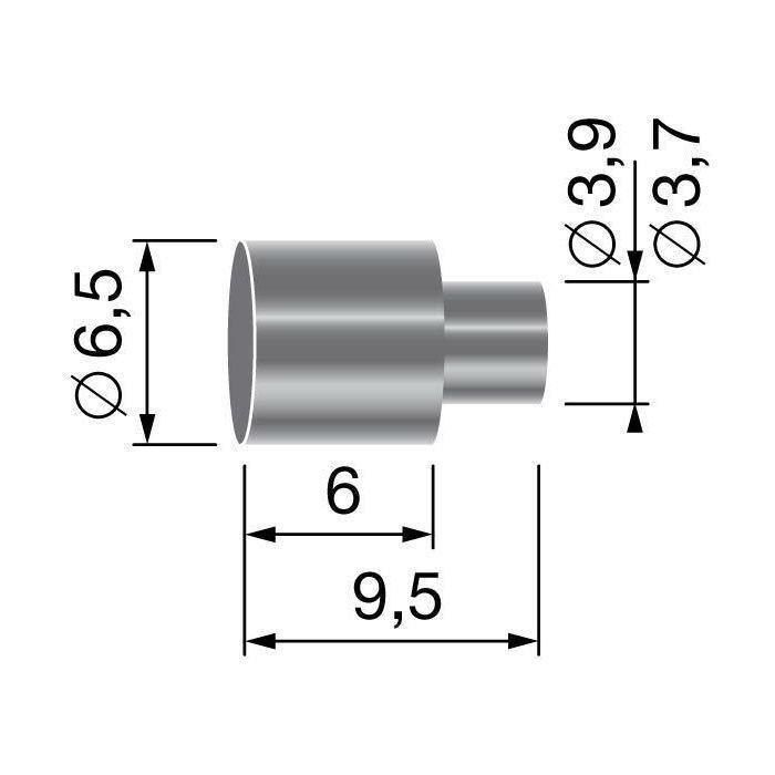 Butée de gaine, pour gaine de Ø: 5,5mm