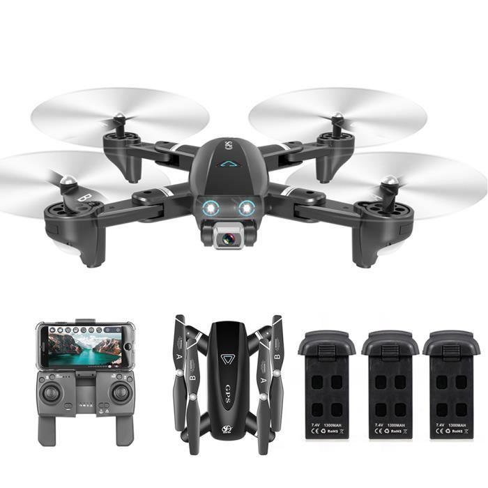 CSJ S167GPS Drone avec caméra 4K Caméra 5G WIFI FPV Drone Point de route Flying Gesture Photos Vidéo Retour automatique Accueil A