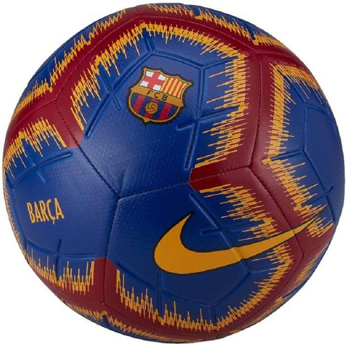 FC Barcelone Ballon de Foot Bleu Nike