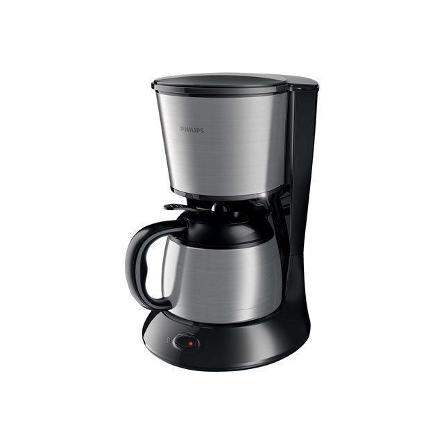 PHILIPS HD7478/20 Cafetière collection Daily - Verseuse isotherme - 1000W - Noir et Métal