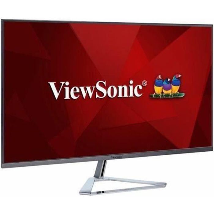 Ecran VIEWSONIC VX3276-MHD-2 - 32 pouces - Dalle IPS FHD - 4 ms - 75Hz - HDMI/VGA/DP - Technologie Super Clear