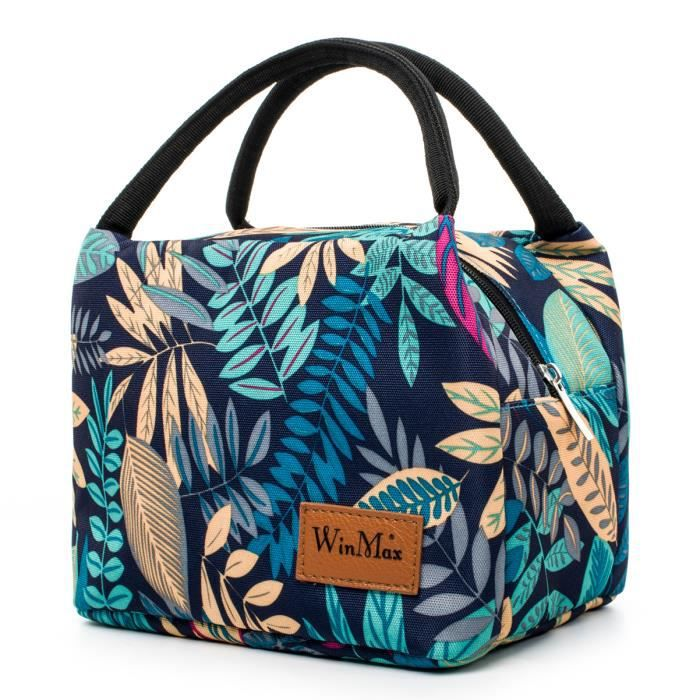Sac-repas isotherme pour Femmes Hommes Enfants Thermos Cooler adultes Tote Food Lunch Box