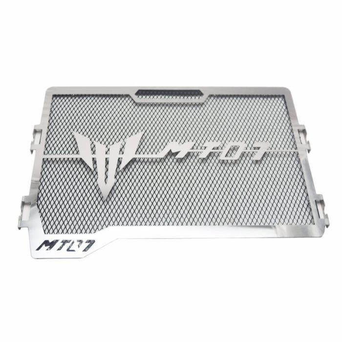 RONSHIN Garde de Grille de radiateur de Moto en Acier Inoxydable pour Yamaha MT-07 MT07 14-18 Or