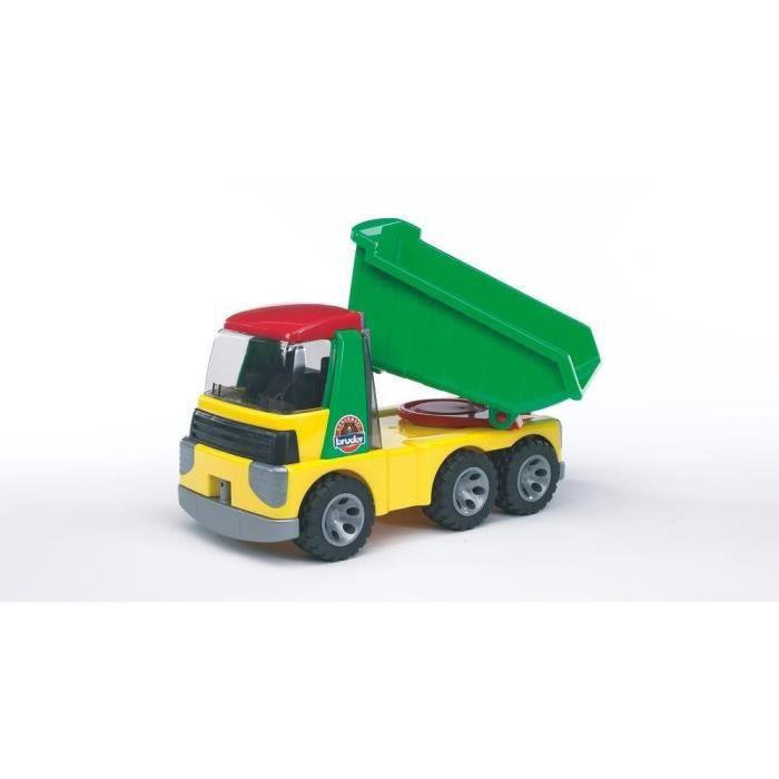 CAMION ENFANT BRUDER 20000 - Camion benne ROADMAX - 36,5 cm