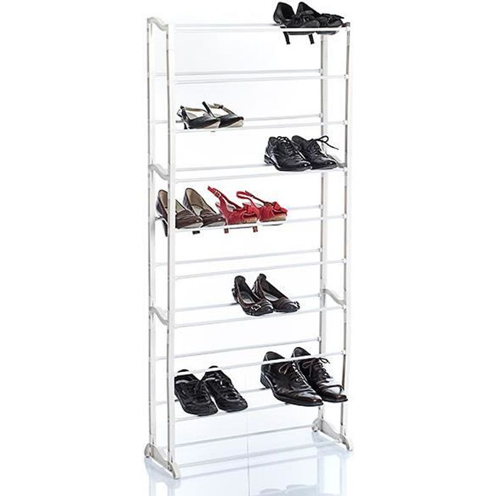 meuble range chaussures grande capacite 30 paires achat vente meuble chaussures meuble. Black Bedroom Furniture Sets. Home Design Ideas