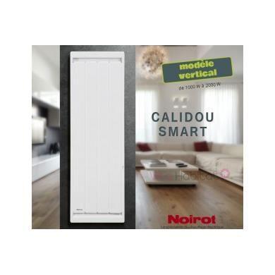 RADIATEUR ÉLECTRIQUE Radiateur Noirot CALIDOU Smart Vertical - 1000W…