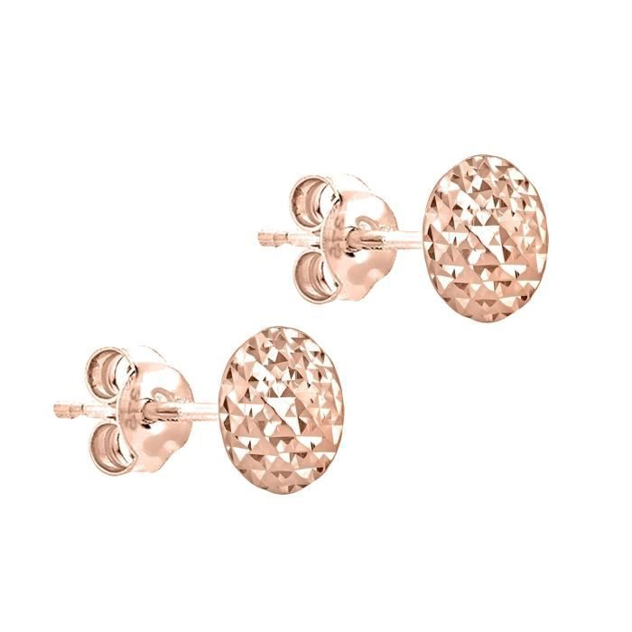 Boucles Doreilles - Or Rose 9 Cts - 5.55.7112 ADVYR