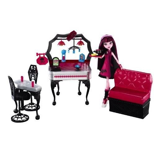 POUPÉE Monster High - Draculaura Diner D'Enfer