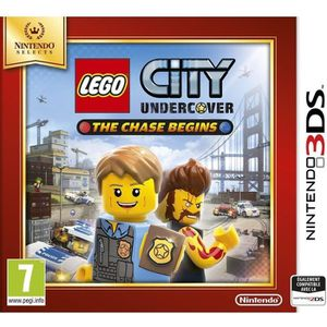 JEU 3DS Lego City Undercover - The Chase Begins Select Jeu