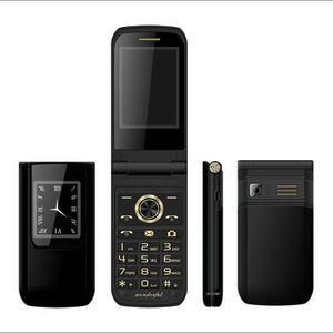 Téléphone portable Double écran Double Carte SIM longue veille FM pri