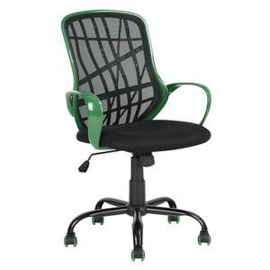 CHAISE DE BUREAU Fauteuil de Bureau, noir, chaise de bureau noir et