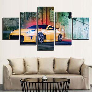 TABLEAU - TOILE Sans cadre non étiré toile imprimée peintures 5 pi