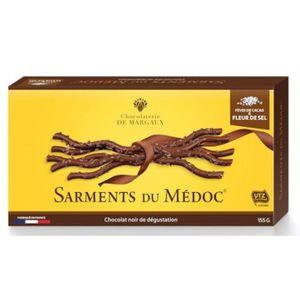 VIN ROUGE Sarment Du Médoc Noir Fleur De Sel 155g (lot de 3)