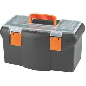 DESSERTE CHANTIER Boîte à outils plastique - Longueur 420 mm
