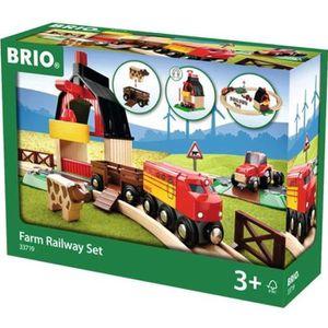 CIRCUIT BRIO World  - 33719 - Circuit en bois De La Ferme