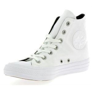 Chaussures CONVERSE Femme BIANCO Tissu 559828C