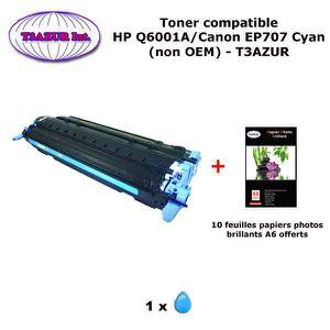 TONER Toner générique Canon EP707 Cyan pour imprimante C