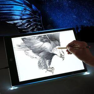 TABLE A DESSIN Tablette Lumineuse A4 LED Luminosité Réglable LED