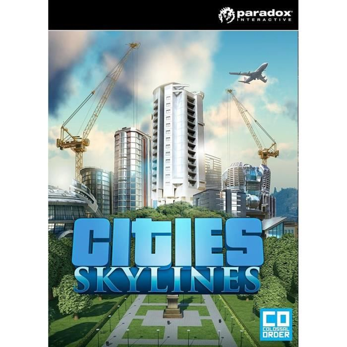 Cities Skylines Jeu PC