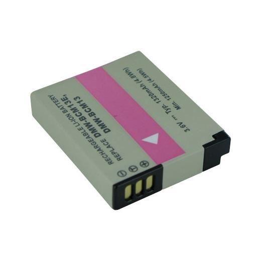 Batterie pour PANASONIC LUMIX DMC-TZ40S