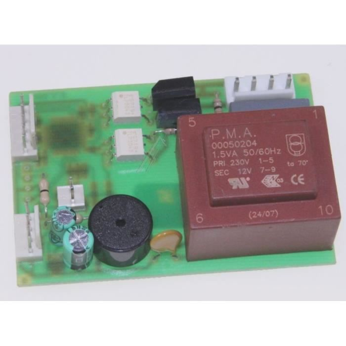 Platine de commande rc456a pour petit electromenager ASTORIA - BVMPIECES