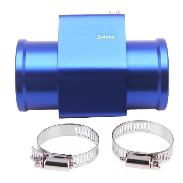 Adaptateur Manomètre Sonde de Température Tuyau de Joint de Capteur de Température de L'Eau Universel de Voiture(34mm)