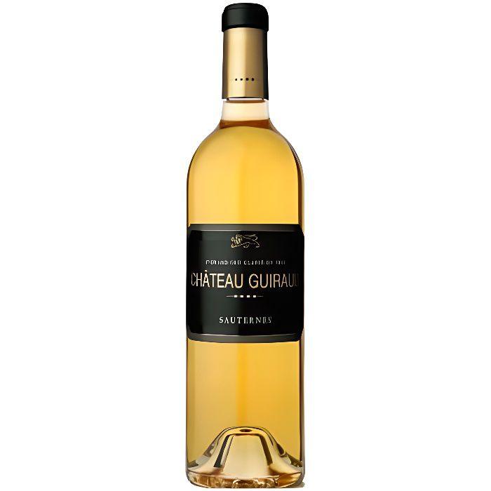 X6 Château Guiraud 2017 - AOC Sauternes - 1er Cru Classé - Vin Biologique - Vin Blanc - Bouteille (0,75cl)