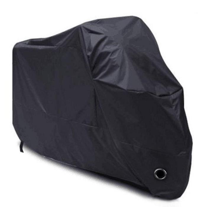 Housse de Protection pour Moto - pour Moto, Scooter, Taille: XXXXL, Couleur: Noir