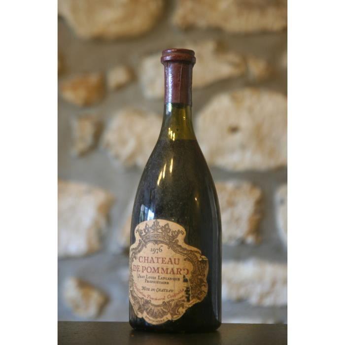 Vin rouge, Pommard, Château de Pommard 1976 Rouge