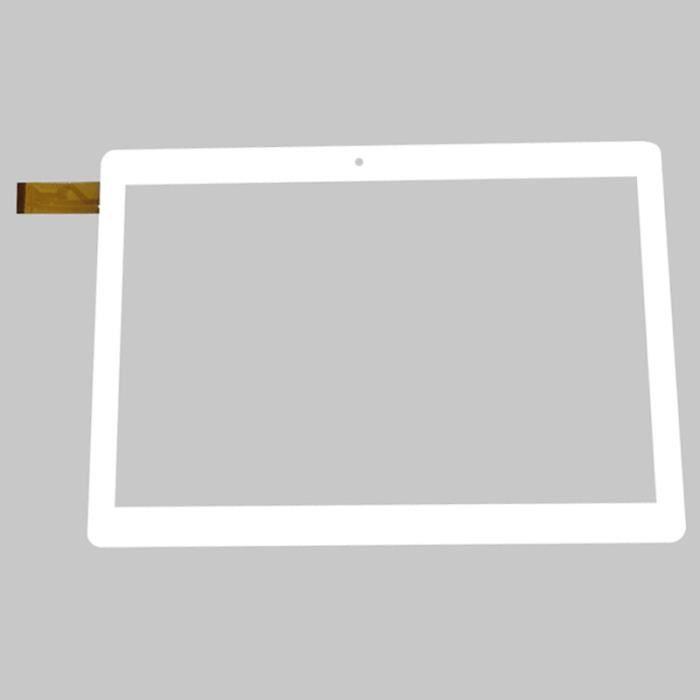 Blanc 10,1 pouces tablette accessoires Polaroid Pure 10.1 Mids185pr001.182 Le verre de l'écran tactile