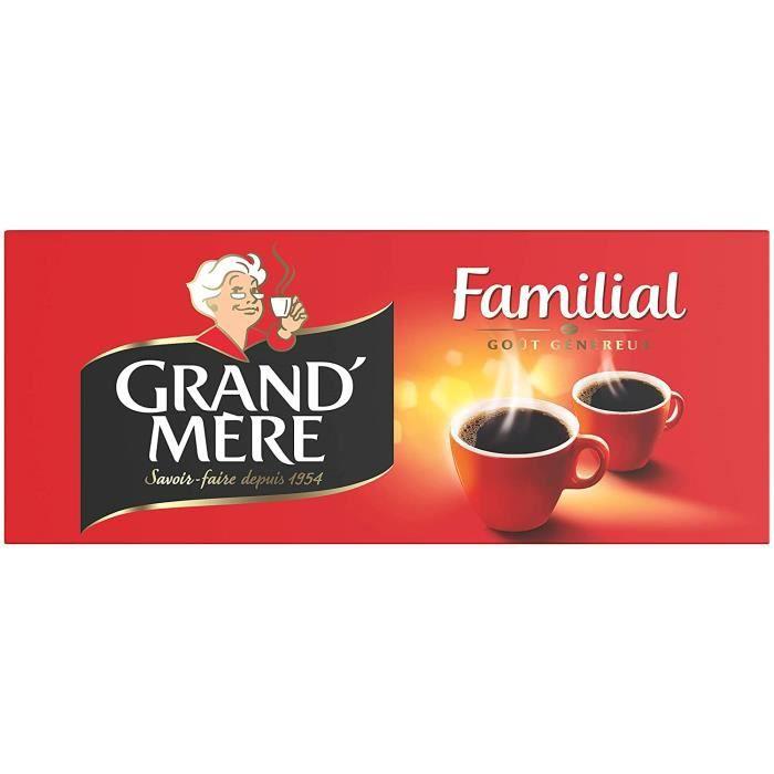 GRAND MERE Café Familial Moulu 1 kg
