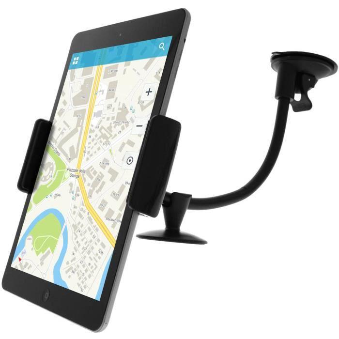 Support Voiture pour Tablette ou Smartphone - Fixation Ventouse