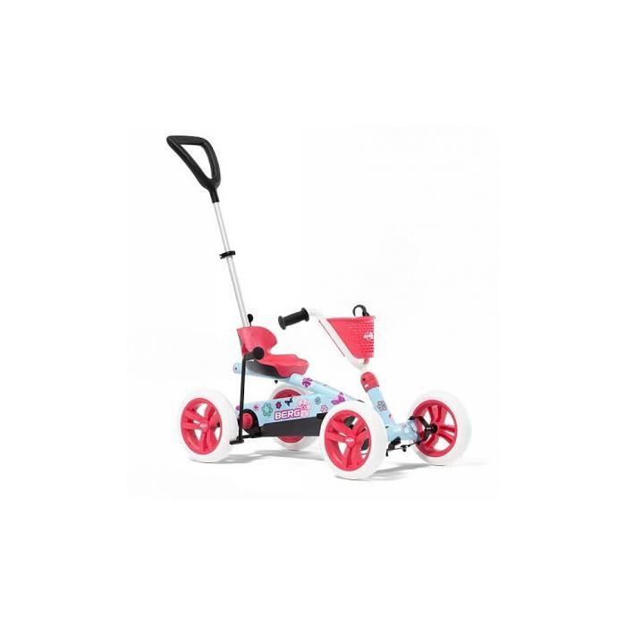Kart a pedales BERG Buzzy Bloom 2 en 1 - Référence : 24.32.01.00