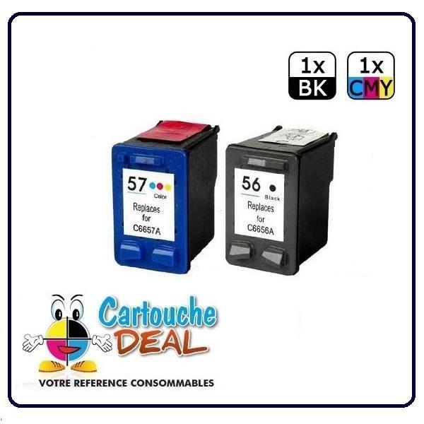 HP Deskjet 5000 Series 5100 5145 5150 5550 Pack Cartouche générique compatible