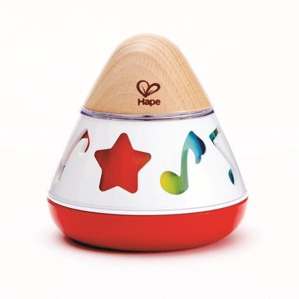 HAPE Jouet d'éveil musical en bois - Boîte à musique en bois