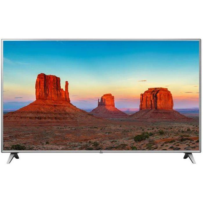 LG 75UK6500 TV LED 4K UHD 189 cm (75-) - SMART TV - 4 x HDMI - 2 x USB - Classe énergétique A
