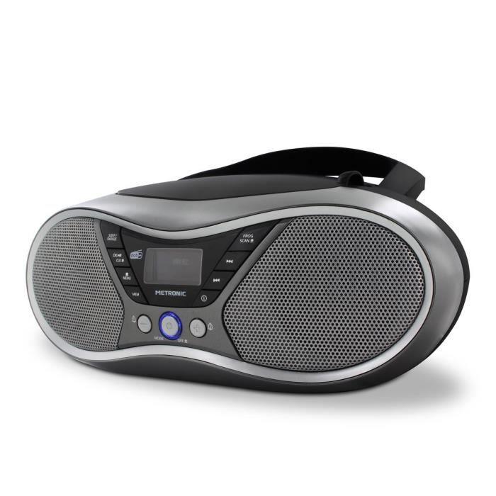 Lecteur CD MP3 numérique DAB+ et FM RDS