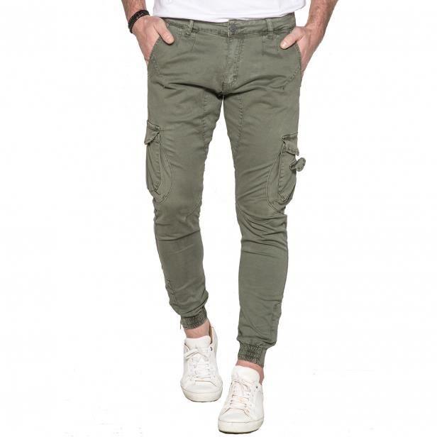 Pantalon Cargo homme kaki Garden