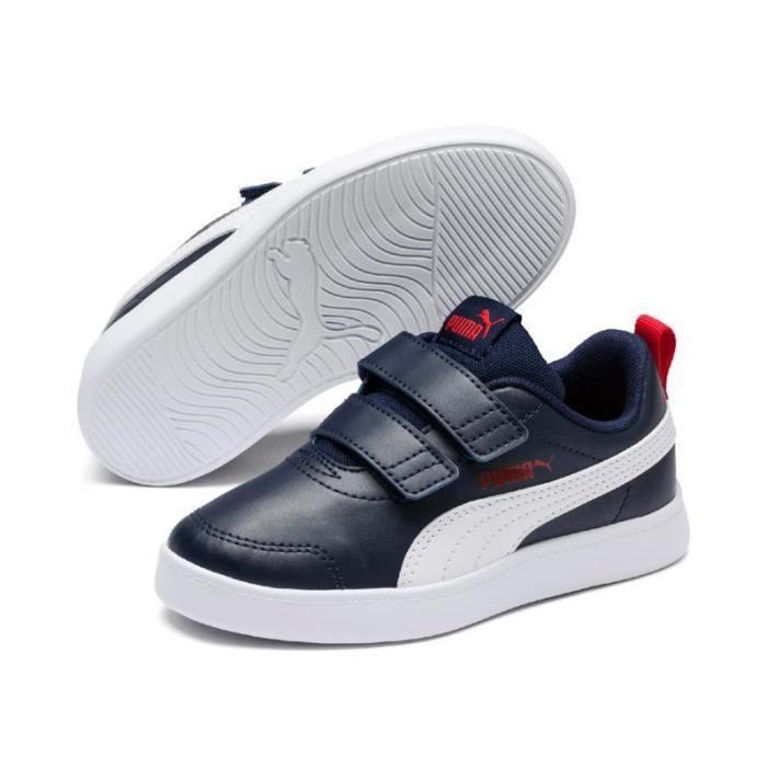 Chaussures de basketball junior Puma courtflex v2