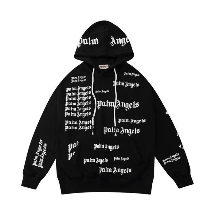 VUY-44 Hommes Femmes Sweatshirts à capuche avec lettres intégrales Palm Angel Veste de course à pied Chandail