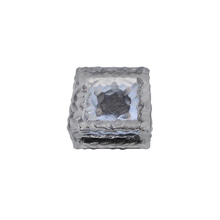 SEAU A GLACONS -Lumière blanche de lumière de brique de glace solaire 4LED