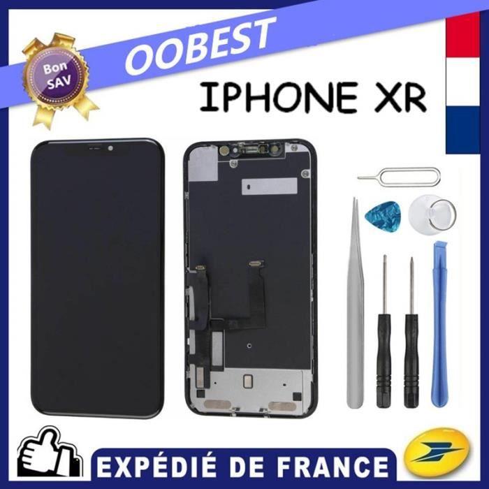 Ecran iPhone XR Noir Complet