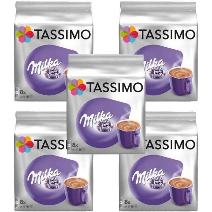 5 Tassimo Milka Chocolat Chaud